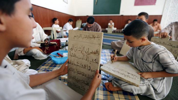 Boys in a Koran school in Tripoli, Libya (photo: AFP/Getty Images)
