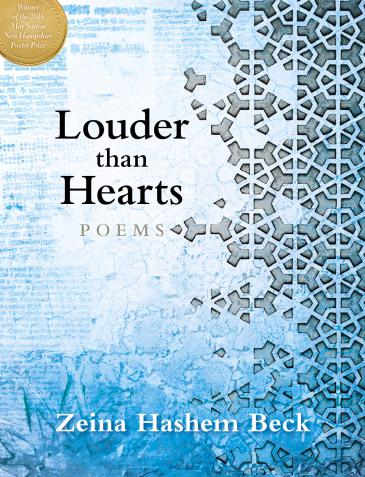 """Cover of Zeina Hashem Beck's """"Louder than Hearts"""" (published by Bauhan Publishing)"""