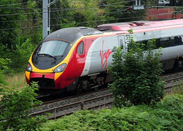 London to Glasgow passengers choose rail over air.