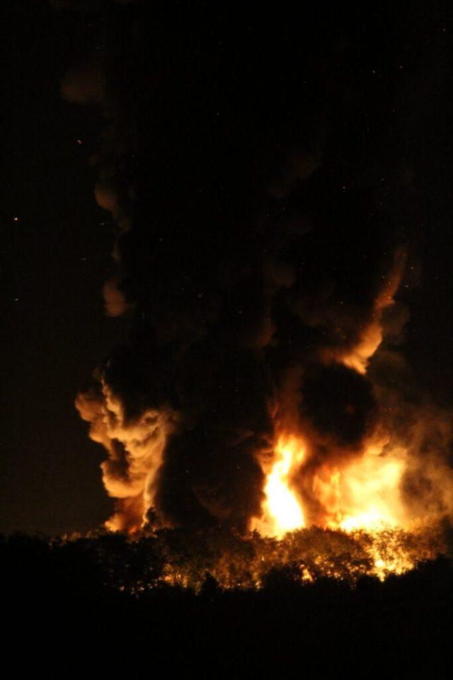 Llangennech diesel train catches fire