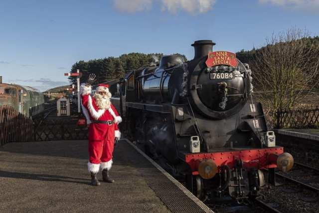 Santa at North Norfolk Railway
