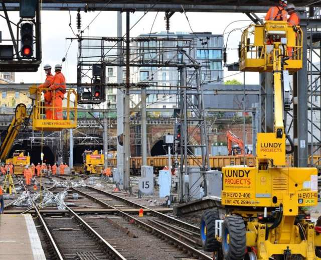 East Coast Main Line works