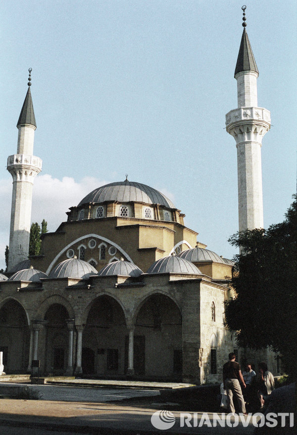 Juma Jami Mosque built in 1552 in Yevpatoria, western Crimea.