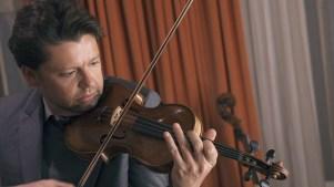 famous violinist Julian Rachlin plays Geissenhof-violin
