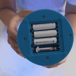 Temporary usage when batteries are of different sizes