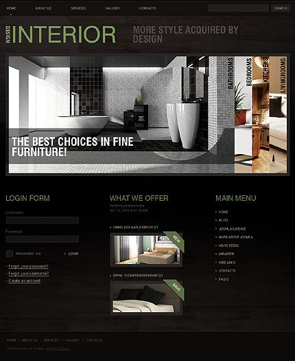interior design company profile format