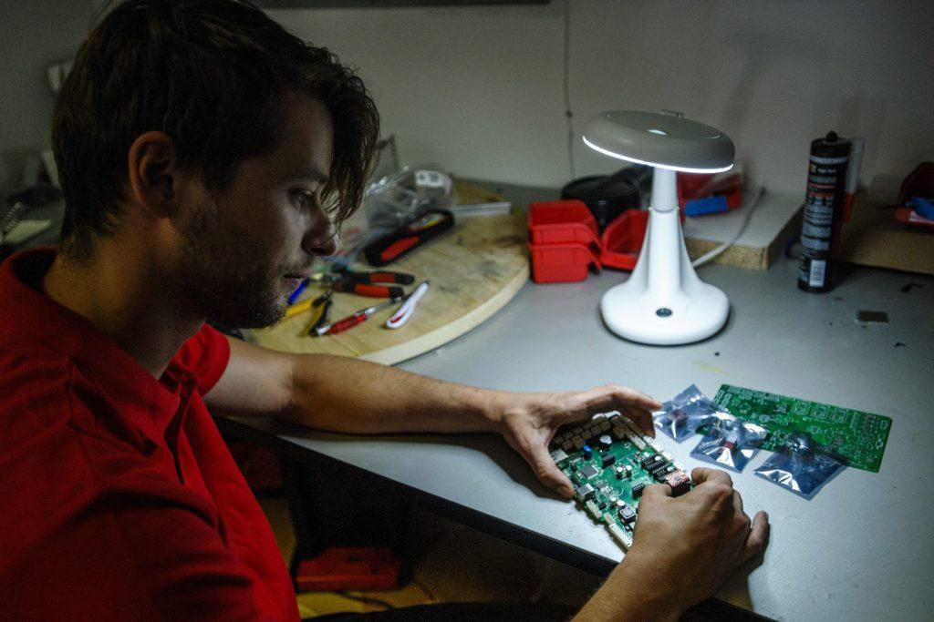 Working on GammaChef hardware