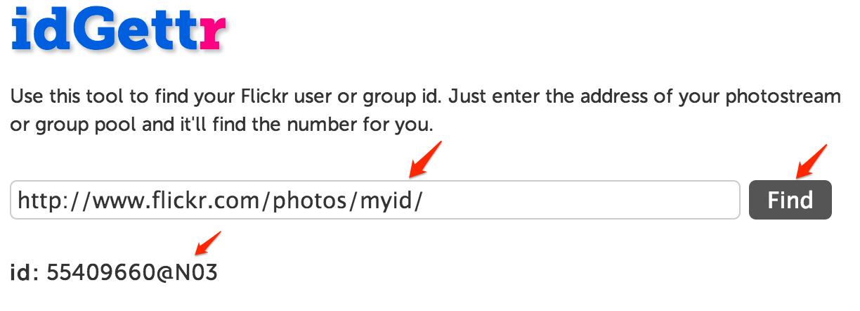 Flickr ID