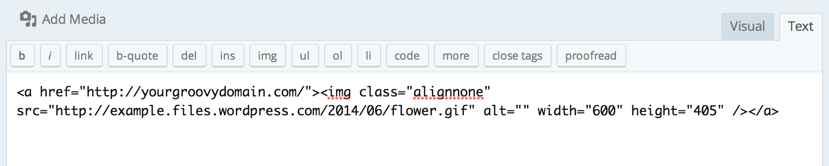Image Link Code