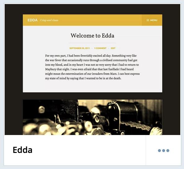 Edda Theme