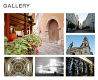 Gallery with Tiles Style