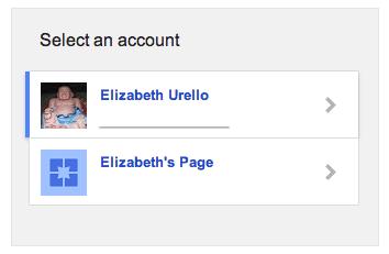 Page choice