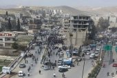 Regime's military police carried out a security operation in al-Tall city in rural Damascus