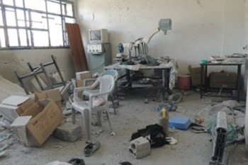 45 Attacks on Medical & Civil Defense Centers in Syria in January