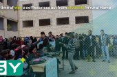 In a time of war: a selflessness act from students in rural Hama
