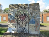 "<h5>The Berlin Wall in Gillingham, Great Britain</h5><p>Details, Copyright: <a href=""http://en.the-wall-net.org/?p=896"" >Gillingham, GB</a> / more <a href=""http://en.the-wall-net.org/category/the-berlin-wall/eur/"" >sites in Europe</a></p>"