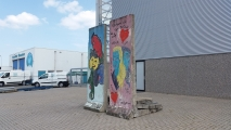 "<h5>Thanks David Eerdmans</h5><p>© Berlin Wall in 's-Heerenberg by <a href=""https://twitter.com/DavidEerdmans"" target=""_blank"">David Eerdmans</a></p>"