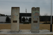 """<h5>Thanks Michael Sean Nix</h5><p><a href=""""http://commons.wikimedia.org/wiki/File:Sections_of_Berlin_Wall_at_in_Spartanburg.jpg#mediaviewer/File:Sections_of_Berlin_Wall_at_in_Spartanburg.jpg"""" target=""""_blank"""">Sections of Berlin Wall at in Spartanburg</a>"""" by Micheal Sean Nix - <a class=""""external free"""" href=""""http://www.hmdb.org/marker.asp?marker=14171&amp;Result=1"""" target=""""_blank"""" rel=""""nofollow"""">http://www.hmdb.org/marker.asp?marker=14171&amp;Result=1</a>. Licensed under Public domain via <a href=""""//commons.wikimedia.org/wiki/"""" target=""""_blank"""">Wikimedia Commons</a></p>"""