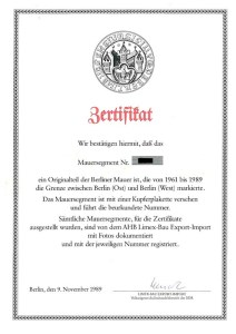 LIMEX_Zertifikat