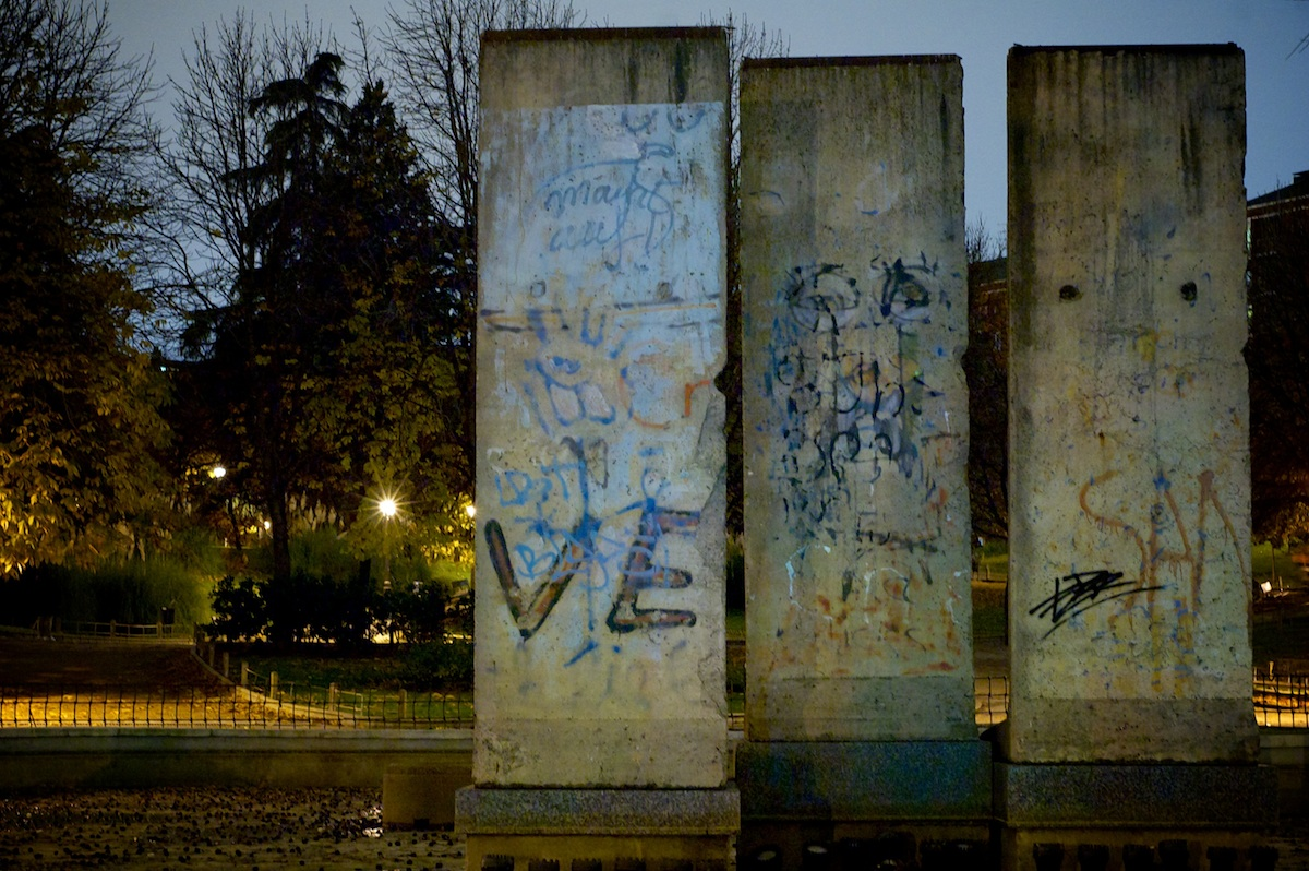 Berlin Wall in Madrid
