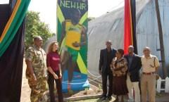 Berlin Wall in Kingston, Jamaica