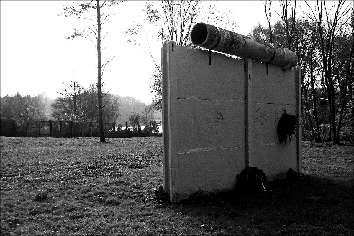 Berlin Wall in Groß Glienicke