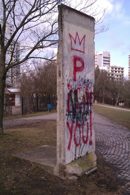 Berlin Wall in Leonberg
