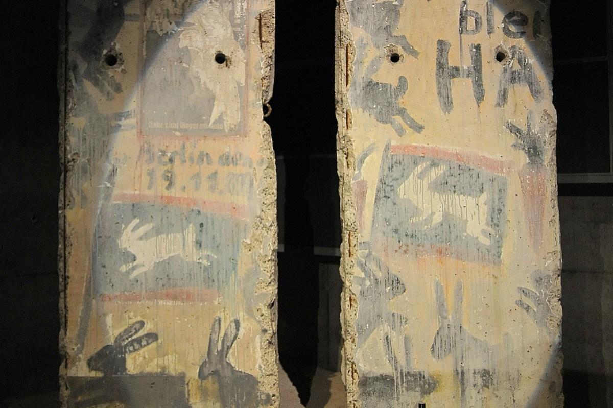 Berlin Wall in Caen