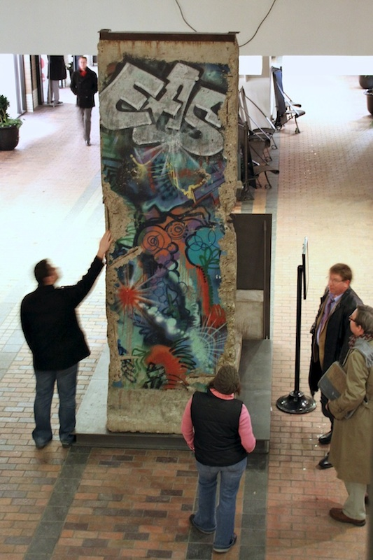 Berlin Wall in Montrea