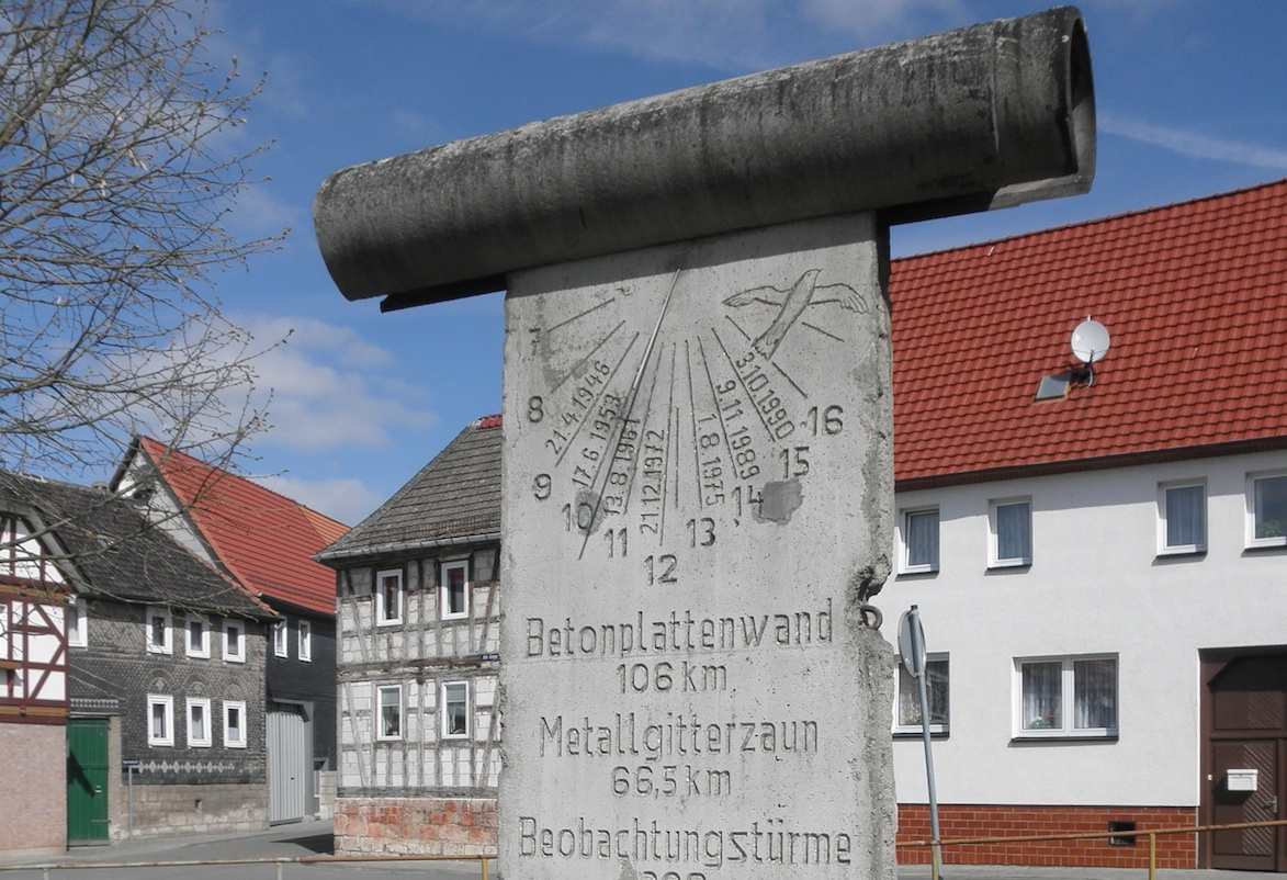Berlin Wall in Silberhausen