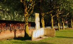 Berlin Wall in Bocholt