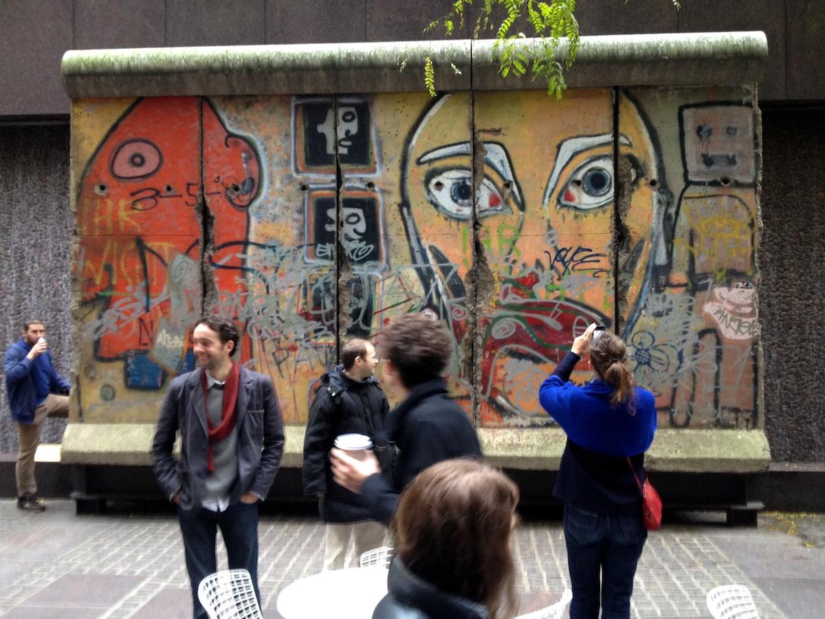 Berlin Wall in NYC