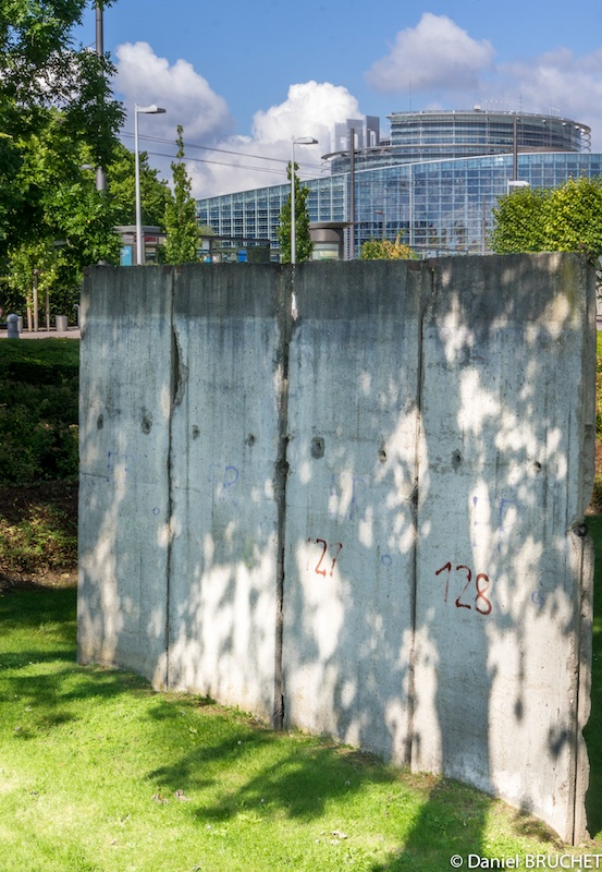 Berlin Wall in Strasbourg