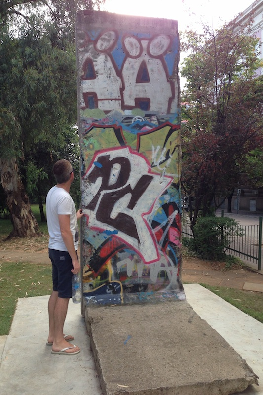 Berlin Wall in Tirana