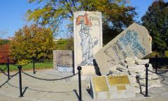 Berlin Wall in Ft. Leavenworth