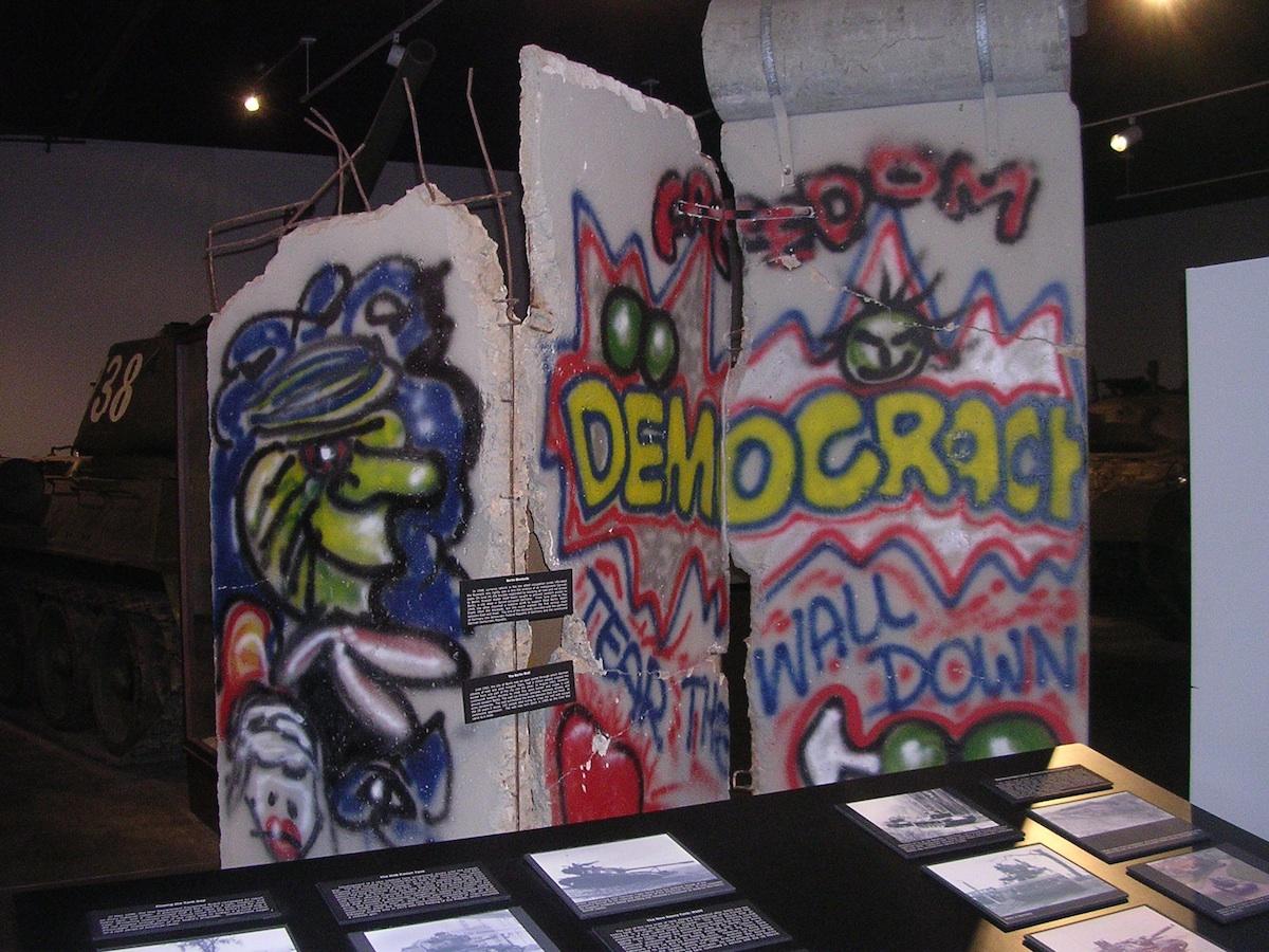 Berlin Wall in Ft. Knox