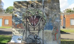 Berlin Wall in Gillingham