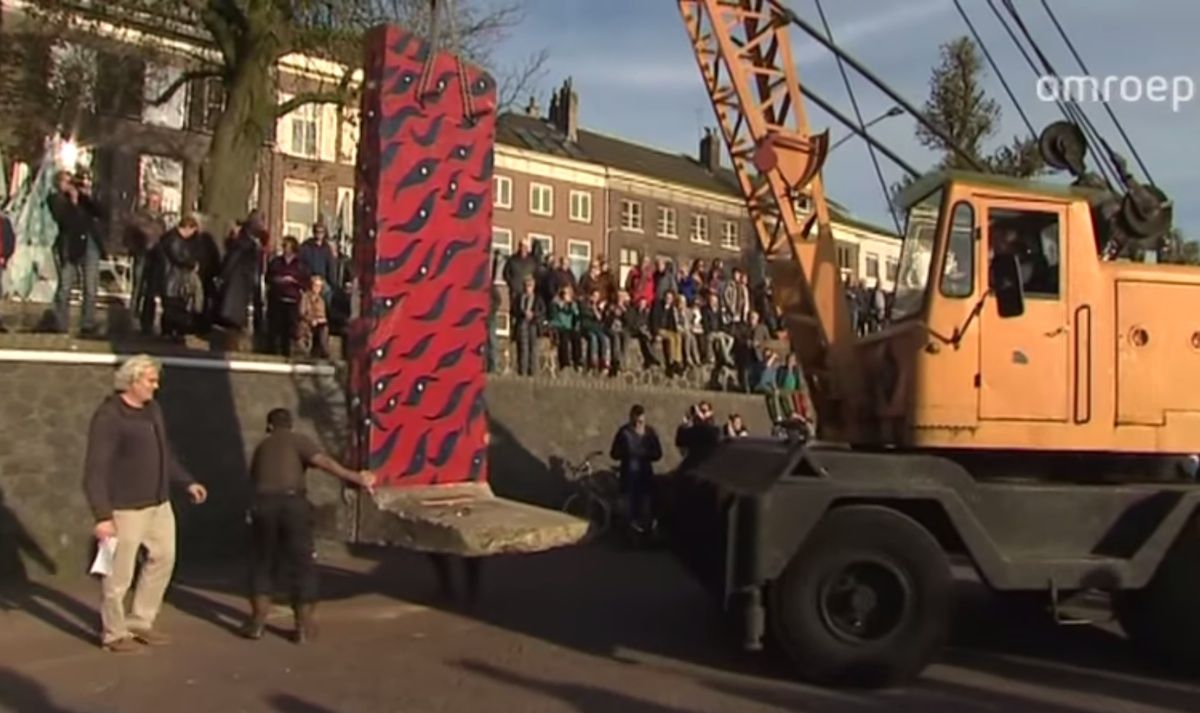 Berlin Wall in Arnhem