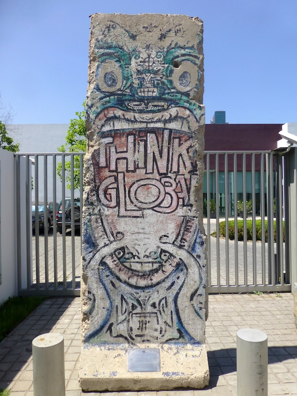 Berlin Wall in Santiago de Chile
