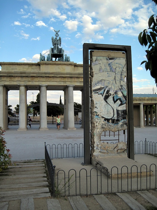 Berlin Wall in Torrejon de Ardoz