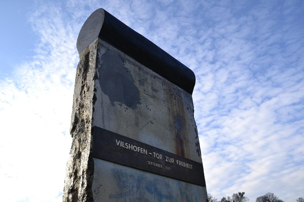 Berlin Wall in Vilshofen