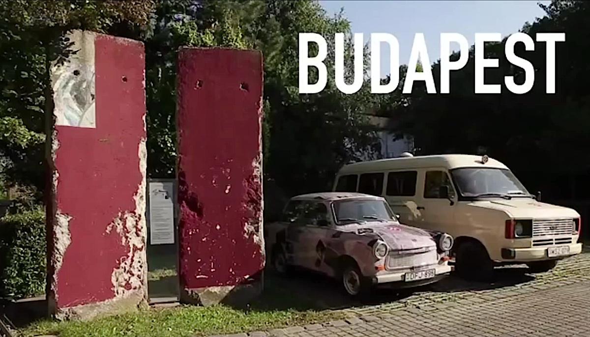 Berlin Wall in Budapest