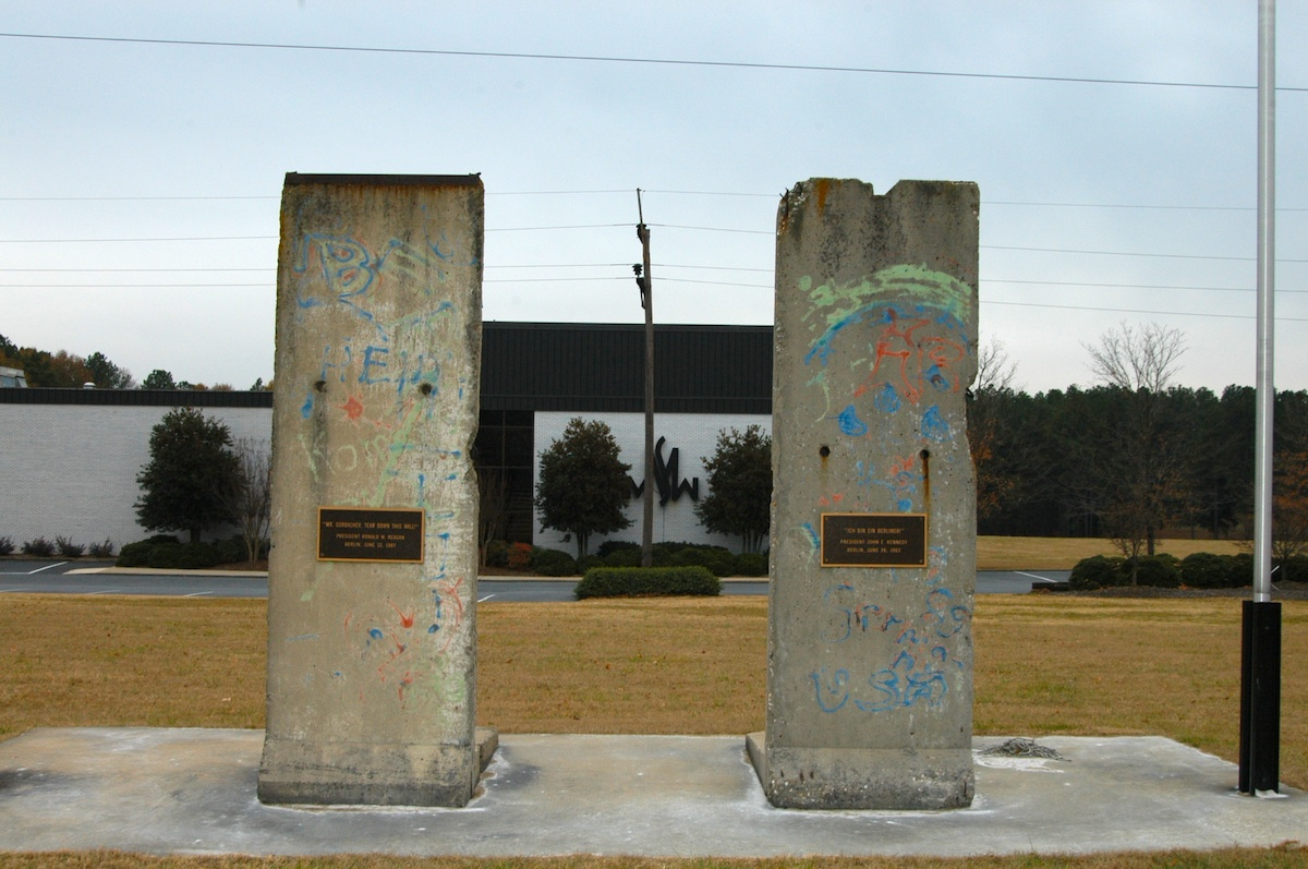 Berlin Wall in Spartanburg