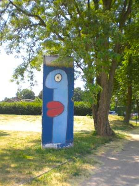 Berlin Wall in Tremmen