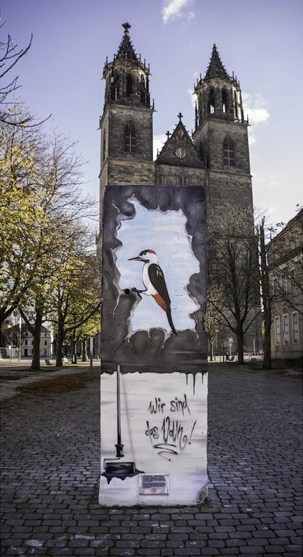 Berlin Wall in Magdeburg