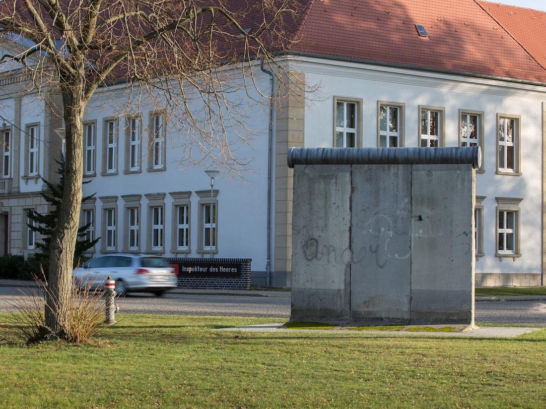 Berlin Wall in Strausberg