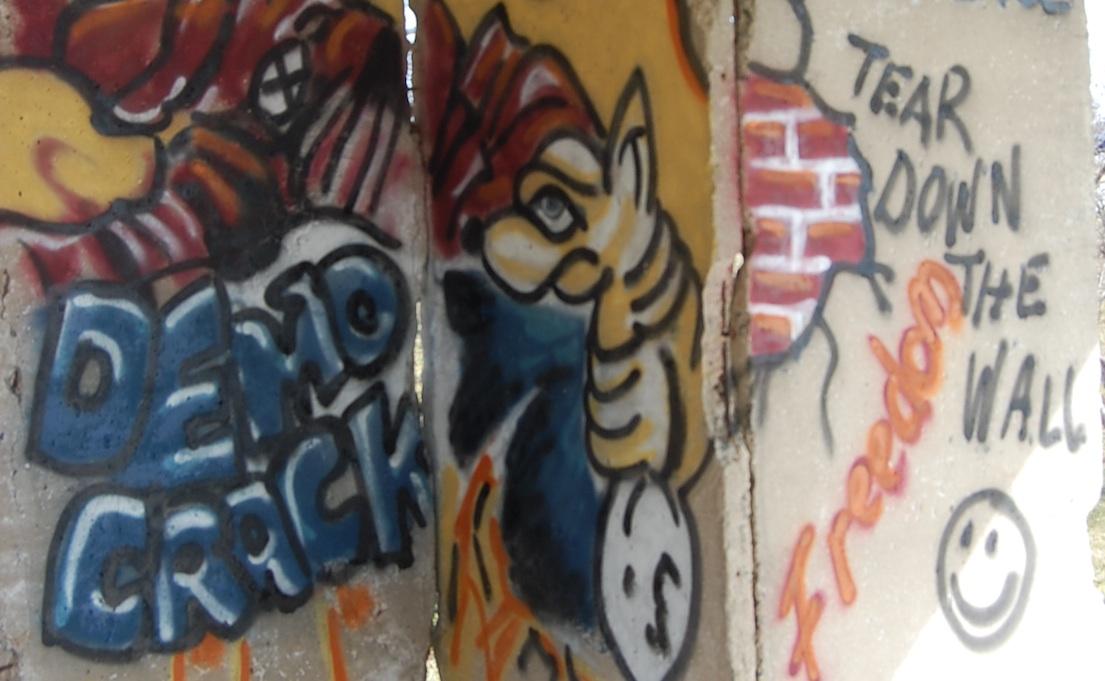 Berlin Wall in Ft. Leonard Wood