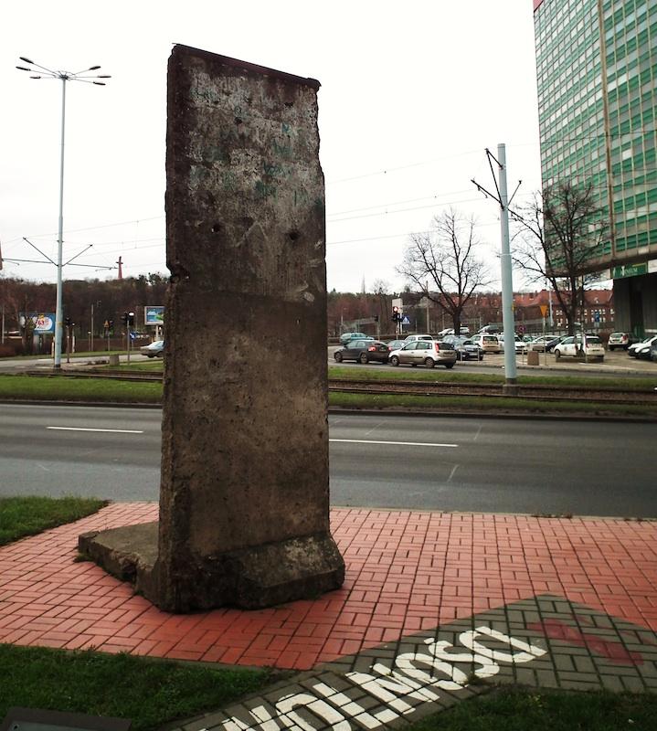 Berlin Wall in Gdansk