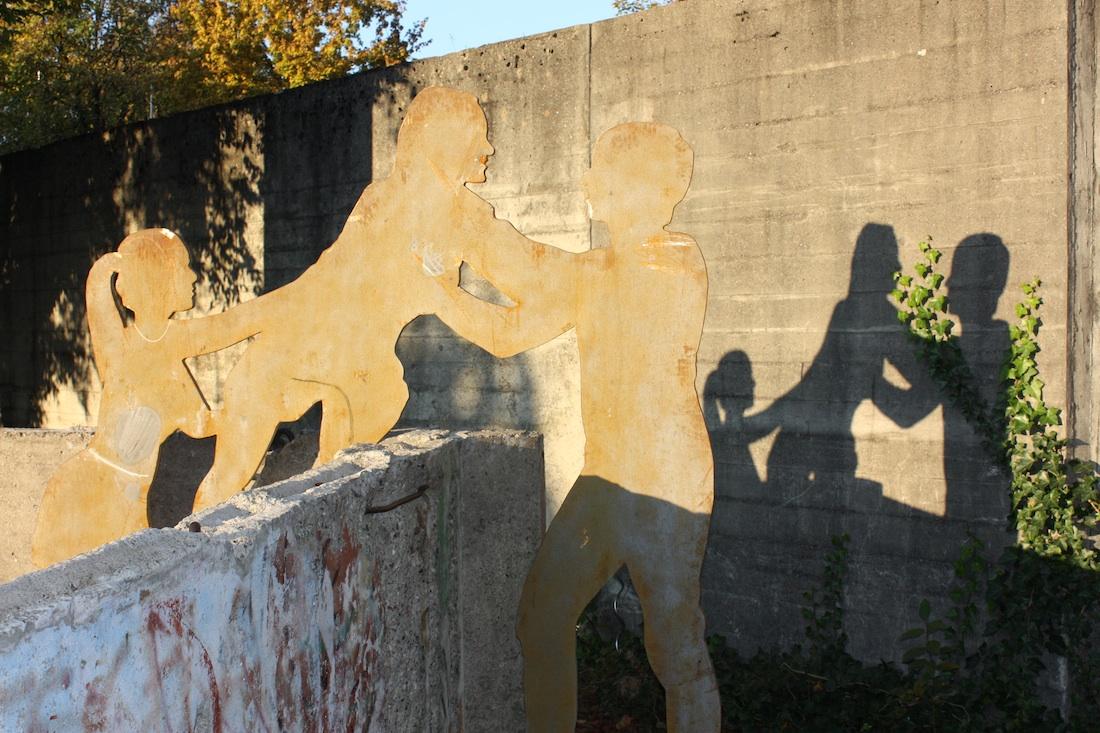 Berlin Wall in Grafing