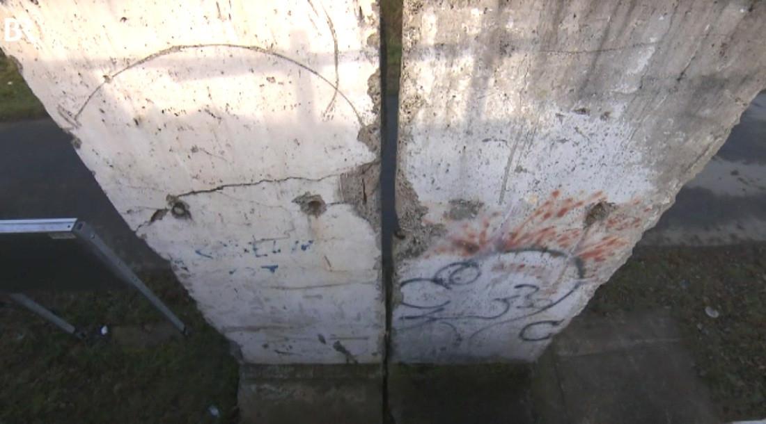 Berlin Wall in Weiden